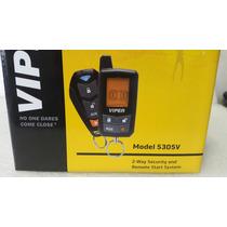 Alarma Viper Con Arrancador 5305v 2 Vias