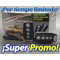 Alarma Audiobahn Intake + Kit 2 Seguros Electricos