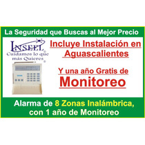 Alarma Casa, Negocio, Inalambrica Y 1 Año Gratis Monitoreo
