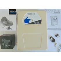 Energizador Cerca Eléctrificada+pila Respaldo+control Remoto