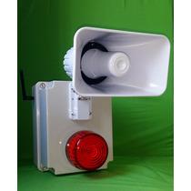 Alarma Vecinal Demostración En Sitio.