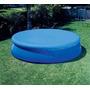 Cubierta Circular Para Alberca Inflable De 4.57 M. Intex