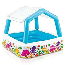 Intex Parasol Piscina Inflable 62 X 62 X 48 De Edad 2+