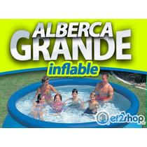 Alberca Grande C Bomba Y Filtro 3metros Inflable Intex Swim