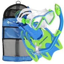 Set De Snorkel Us Divers Junior Regal Mask. Llévatelo!
