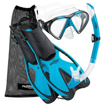 Set De Snorkel Phantom Aquatics Adulto. Varios Colores