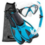 Set De Snorkel Phantom Aquatics Adulto. Varios Colores