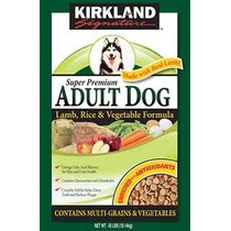 Kirkland Adult Dog Super Premium Cordero, Arroz Y Vegetales