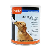 Sustituto De Leche Para Cachorro Hartz 450g Con Biberon