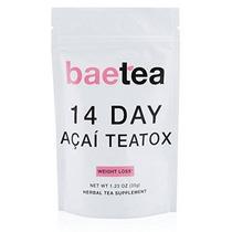 Té De La Pérdida De Peso Acai Baetea: Detoxbody Cleansereduc