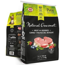 Grand Pet Natural Gourmet Adulto Raza Peuqeña - Bulto De 3kg