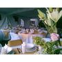 Banquetes Economico 7 Tiempos Con Sonido Y Mesa De Postres