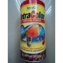 Tetracolor Tropical Flakes 200ghecho En Alemania No Enturbia