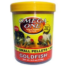 Omega One Small Goldfish Pellets 4.2oz.