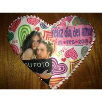 Almohada Corazon Foto Amor Amistad 14 Febrero San Valentin