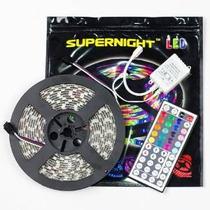 Súper Noche 16.4ft Smd 5050 Impermeable 300leds Rgb Led Tira