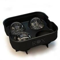 Rox Bola De Hielo Maker - 4 X 4,5 Cm 4 Esfera Molde Del Hiel