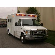 Ambulancia Tipo 3 Mod 2014 Turbo Disel 6.0 Lts E350 Xlt