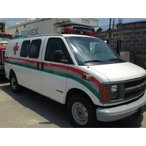 Ambulancia Chevrolet Express Año 2000