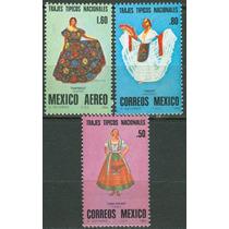 Sc 1197-1198, C636 Año 1980 Trajes Tipicos Nacionales