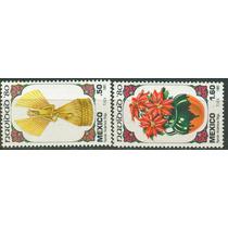 Sc 1217-1218 Año 1980 Navidad