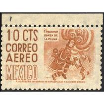 0741 Arqui 1° E Oaxaca 10c Aéreo Mint N H 1950