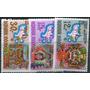 0998 Indonesia Mascaras En Serie 3 S Mint N H 1969