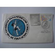 1er Dia De Emisión Cong Panameri De Educacion Fisica 1982