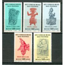 Sc C548-c552 Año 1977 Danzas Prehispanicas Arte Y Ciencia De