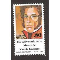 Mexico Vicente Guerrero, 1981 Nueva
