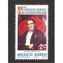 Congreso Gastroenterologia Salud 1975 Pintura Miguel Jimenez
