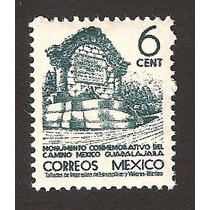 México 1940 Monumento Crretera Mexico- Guadalajara