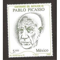 Mexico Pablo Picasso 1981 Nueva Pintor Arte