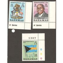 Bahamas Bandera Y Escudo