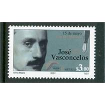 Sc 2226 Año 2001 15 De Mayo Dia Del Maestro Jose Vasconce