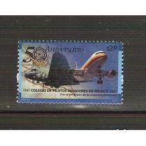 1997 Colegio De Pilotos Aviadores De Mèxico Sello Nuevo