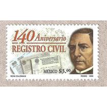 Mexico Juarez Y El Registro Civil 1999