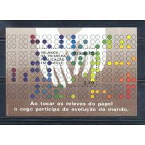 L387-brasil 1979 150 Aniv. Publicación Braille Ss-mnh-
