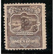 Serie Mulitas 1898 Ferrocarril $1 Peso Wk 152
