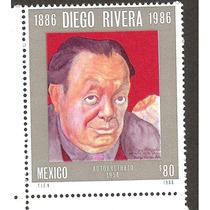 Diego Rivera Autoretrato 1986, Mnh