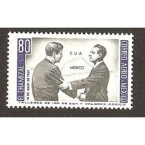 John F Kenedy Y López Mateos Entrega Del Chamizal 1963