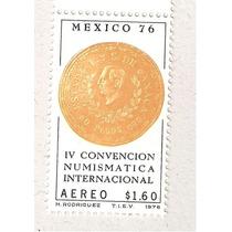 I V Convención Numismtica Intl. Moneda 1976 Vbf