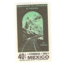 Ferrocarril Del Chihuahua-pacifico Nueva 1961