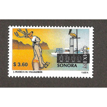 México Turistico Sonora $3.60 Nueva 14ava Serie