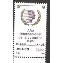 Estampilla 1985 Año Internacional Juventud Onu
