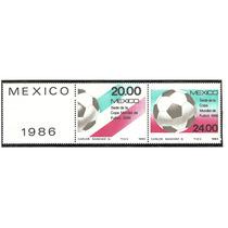 Mundial Futbol Mexico 86, Setenant De 1984 Vbf