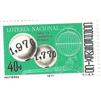 Mexico 1977 Loteria Nacional Nueva Vv4