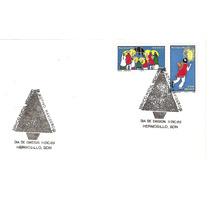 Sobre Primer Día De Estmpillas Navidad 1989