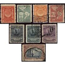 0209 México Serie Completa 8 Sellos Usados N H 1926