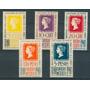 Sc 754-758 Año 1940 Centenario Del Primer Timbre Postal En E